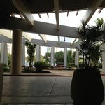The Lobby area totally open air