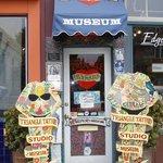 Triangle Tattoo & Museum front door