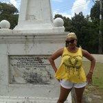 Me by Garrison statue