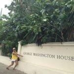 Me at George Washington House