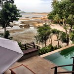 View from beachside villa  - The tides are dramatic