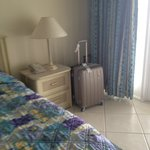 Inside room...my suitcase!
