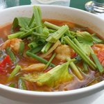 One of the nicest Tom Yum Goong I have tasted in Thailand