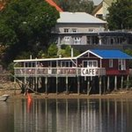 Boatshed from the harbour