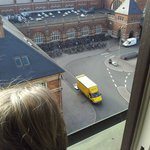 Room overlooking the Railway station