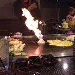 Hibachi grill chef