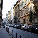 Улица Марии, на которой расположен отель