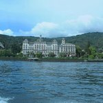 The hotel from our boat