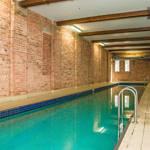 Pool area is heritage listed