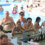 Bar in one of the pools.