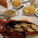 Grilled Lobster & Rib-Eye Steak