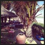 Зоня пляжа при отеле