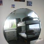 fresh, bright dorm rooms