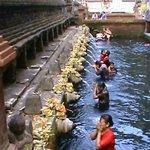 le bassin des eaux sacrées