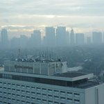 View of Smoggy Manila from my room