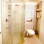 Suite room shower/ toilet