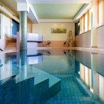 Schwimmbad und Wellnessbereich mit 5 verschiedenen Saunen!