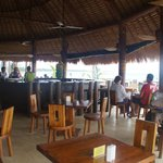Dining area at Coconuts
