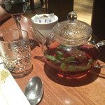 Really lovely Lebanese mint tea was a perfect way to end the meal.