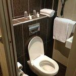 Bathroom has defenitly improved!