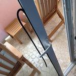 Defekte Balkontür - Dichtung und konnte nicht geschlossen werden