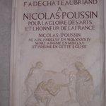 san lorenzo in lucina - tomba nicolas poussin
