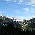 Vista dallo Chalet Maso Doss sulle Dolomiti di Brenta