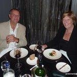 evening meal at Merlot