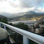 View from breakfast terrace.