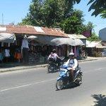 Sanur street scene