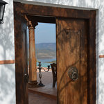 Access to the Pool from Car Park