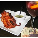 Fried Octopus - mums!