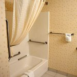 The bathroom of room 305