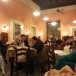 De eetzaal van Da Leo, Lucca