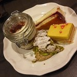 Recommend the yellow cake if you like a more passion fruit fresh type of cake, and the tiramisu