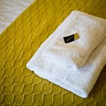 A little chocolate on your towels