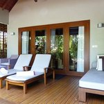 Our villa verandah.