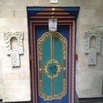 The lovely room doors.