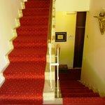 Villa Magdalena staircase