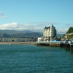 Llandudno from the pier (10 minutes walk from the B&B)