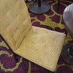 Chair in restaurant ;-((((