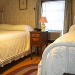 Confortable rooms in a country setting. Large common room with Direct TV.  Outdoor hottub. wifi.