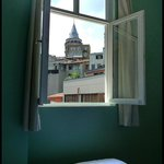 Sultan Room with Galata Tower view