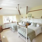 Light and airy twin room