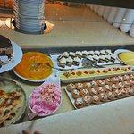 The desert buffet