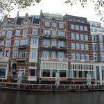 Hotel De L'Europe at Amstel River by Herman Darnel Ibrahim