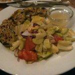 Baked Avocado with Veggies - yumm!