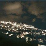 一番上の部屋からの景色〜夜