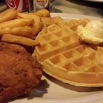 Best chicken & waffles!