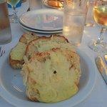 Forrett: Hvitløksbrød med ost